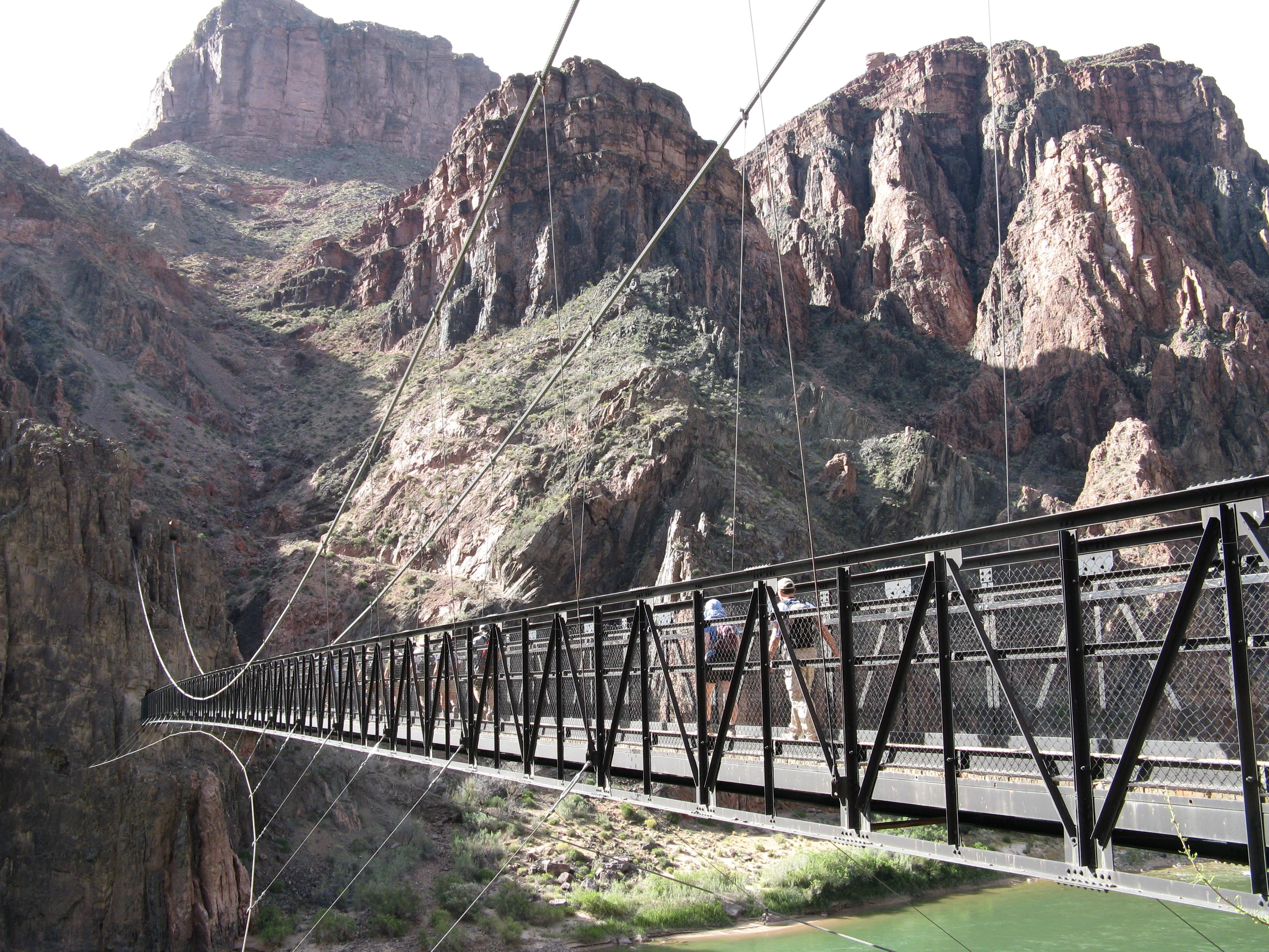 Grand Canyon Phantom Ranch Havasu Canyon Hiking Return
