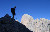 Italy Dolomites Via Ferrata, Hiking Adventure